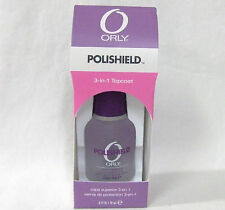 ORLY Nail Treatment Top Coat POLISHIELD 3 in 1  .6oz/18ml