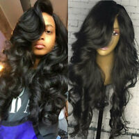 100% Peruvian Virgin Human Hair Wigs Glueless 360 Full Front Lace Wig Loose Wave