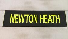 "Manchester Bus Blind 90's 35""- Newton Heath ( Manchester United )"