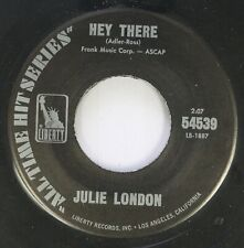 Jazz Nm! 45 Julie London - Hey There / Misty On Liberty Records