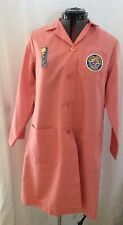 Vintage Volunteer Service Nurse and service pins and vest patch Salmon Pink RN