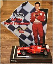 Ferrari F2001 - 1/18 - M. Schumacher - World Champion Limited + bonus