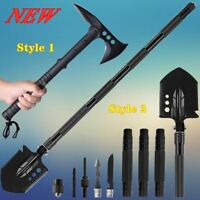 Camping Military Folding Shovel Hunting Axe Survival Tactical Hatchet Gear Set