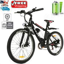 Shimano 26'' 350W Electric Bike Mountain Bicycles E-bike Removeable Li-Battery