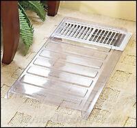 Adjustable Vent Extender Heat Deflector Air Conditioner Register Floor Furnace