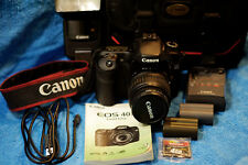 CANON EOS 40 D 10.1 DSLR Complete Bundle! 18-55mm Zoom Speedlite & Much More NR!