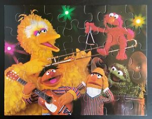 Vintage Sesame Street 35 Piece Floor Puzzle Big Bird - Complete