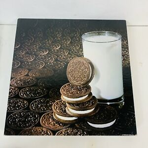 Springbok Puzzle A Kid'll Eat the Middle Oreo Cookies & Milk 500 Pc