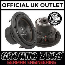"Ground Zero Radioactive GZRW10D4 10"" 25cm 600 Watts Car Sub Subwoofer"
