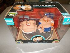 Merchsource The Black Series Sumo King Wrestling R/C wireless fighters toy used