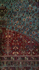 Antique Persian Carpet for 1960, 100% handmade wool with certificate