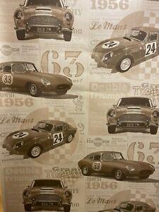 fine decor vintage cars fd40392 gold wallpaper