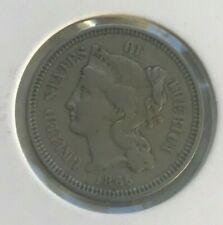 1865 Nickel 3 Cent Piece