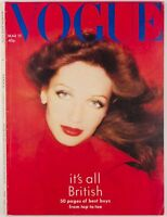 Toscani MARIE HELVIN David Bailey NORMAN PARKINSON John Bates JEAN MUIR Vogue UK