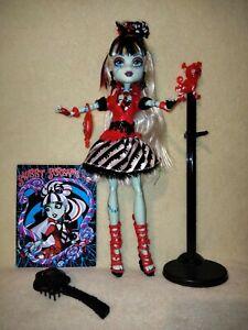 Monster High Frankie Stein - Sweet Screams.MORE INCREDIBLE EX DISPLAY EYE CANDY!