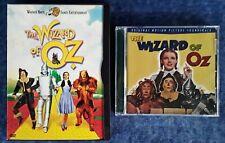 THE WIZARD OF OZ - RHINO CD (26 TRACKS) + THE WIZARD OF OZ - DVD - WARNER BROS