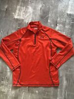 UNDER ARMOUR HeatGear  Athletic 1/4 Zip Pullover Men's Sz Medium