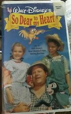 Sealed Walt Disney's So Dear to My Heart VHS (please read description)