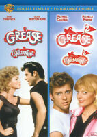 GREASE / GREASE 2 (DOUBLE FEATURE) (BILINGUAL) (BLUE COVER) (DVD)