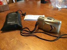 Olympus Stylus Epic Zoom 170 Deluxe 35mm Point & Shoot Film Camera Book/case