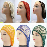 Fashion Women Ladies Soft Rayon Snood Hair Net Crocheted Hair Net
