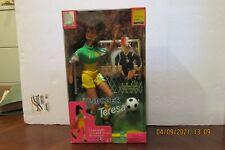 New listing 1998 BARBIE Mia Hamm Soccer Teresa, Mattel 20207 Doll FIFA Word Cup Mattel NRFB
