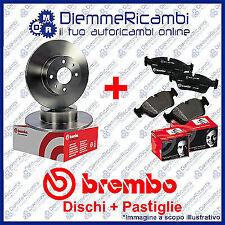 KIT DISCHI + PASTIGLIE FRENO POSTERIORI BREMBO MINI R56 ONE  06-> 13