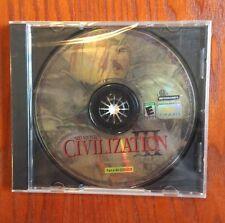 Sid Meier's Civilization III Civ3 PC Older XP Game Read Desc for tips on New Win