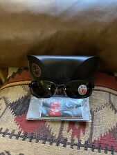 Ray-Ban RB3364 002/58 Polarized Sunglasses Black/Crystal Green