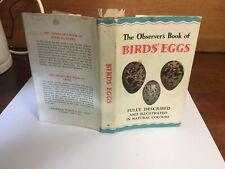 observers book of birds eggs 1967;