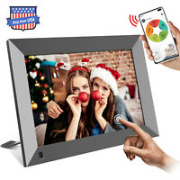 """10.1"""" WiFi Digital Photo Frame Share Picture Video Instantly via App or Facebook"""