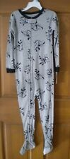 NWT Carter's Snug Cotton Feety Pajamas 5T Ninja Raccoon