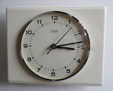 mid century design 60s - Elektromechnische Mauthe Keramik Küchenuhr Uhr ~ 60er