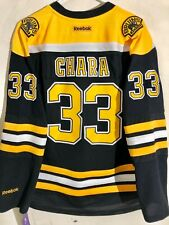 Reebok Women's Premier NHL Jersey Boston Bruins Zdeno Chara Black sz L