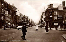 Southampton. Hol;y Rood & High Street # 17 by The Super Post Card.