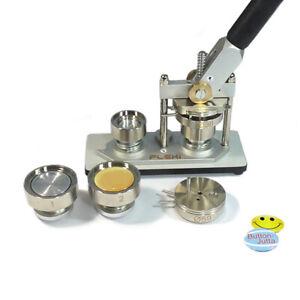 Badgematic Buttonmaschine FLEXI für 2 Buttongrößen nach Wahl + 200 Buttons
