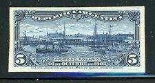 Argentina Rosario Port Specialized: Scott #143 5c Dark Blue PLATE PROOF $$$
