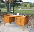 GORGEOUS Mid Century Danish Modern TEAK Desk Made in Denmark!