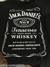 Jack Daniels BIRTHDAY 2012 T-Shirt MEDIUM  Mens Black