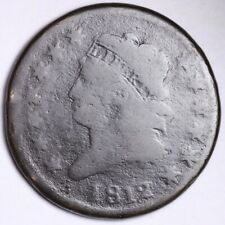1812 Classic Head Large Cent CHOICE G FREE SHIPPING E118 RNM