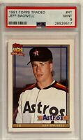 1991 Topps Traded Jeff Bagwell Houston Astros #4T Baseball Card