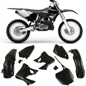 NEW Black Plastic Fairing kit For Yamaha YZ125 YZ250 1996- 2001
