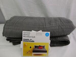 Room Essentials Garment Washed Microfiber Quit Full/Queen