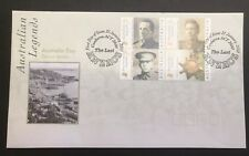 AUSTRALIA 2000 THE LAST ANZACS FIRST DAY COVER Lot 2
