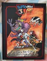 Earthworm Jim Launch The Cow-1st Print-Signed Doug Kickstarter Exclusive extras