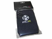 RLX Ralph Lauren Navy Blue Polo Tennis Gym Sweat Bands Sweatband Arm Wrist Bands