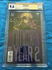 Catwoman #40 - DC - CGC SS 9.6 NM+ - Signed by Jim Balent - Batman