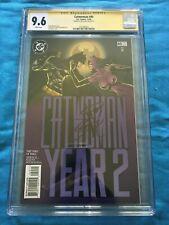 Catwoman #40 - DC - CGC SS 9.6 NM+ - Signed by Jim Balent - Batman