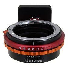 Fotodiox Obiettivo Adattatore DLX serie NIKON G lente per MFT (MICRO - 4/3 m4/3) telecamera