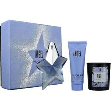 Thierry Mugler Angel Pour Femme - Gift Set With 25ml EDP Spray, Body Lotion, Can
